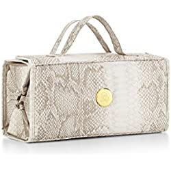 Joy Mangano Large Better Beauty Case, Python