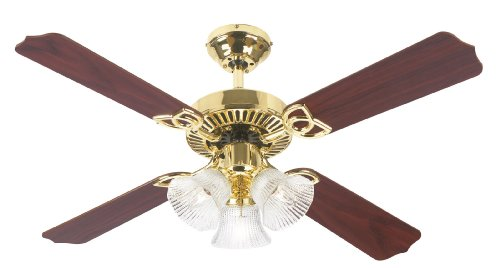 Westinghouse Lighting 7842065 Crusader 42 Inch Ceiling Fan, Brushed Nickel Finish