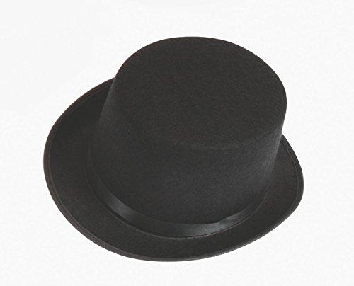 Fun World Felt Top Hat Accessory-Standard -
