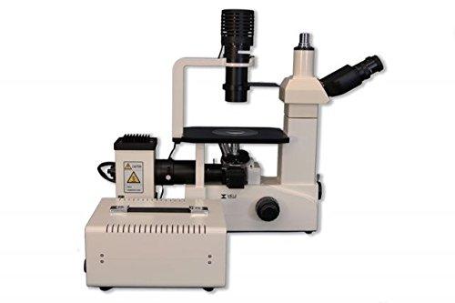 - MEIJI TECHNO AMERICA TC-5600 Inverted Trinocular Microscope, Planachromat Fluorescence Objective