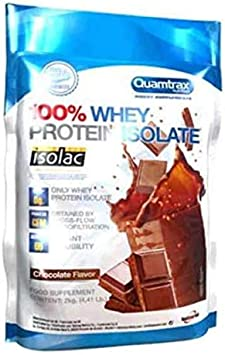 Quamtrax Direct Whey Protein Isolate, Chocolate - 2 Kg