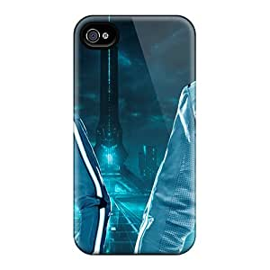 Iphone 4/4s ExF19321NxJa Support Personal Customs HD Daft Punk Skin Best Hard Cell-phone Cases -SherieHallborg