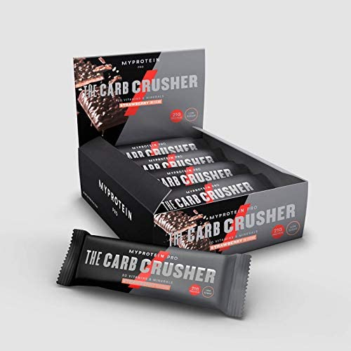 Myprotein Carb Crusher Bars Erdbeer-Kaesekuchen12x60 g