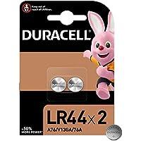 Duracell Pilas especiales alcalinas de botón LR44 de 1.5 V, paquete de 2 unidades 76A/A76/V13GA, diseñadas para su uso…