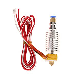 j-Head v5 Extruder Hotend - Kit de Tubos calefactores para ...