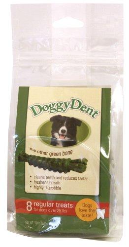 Sergeant's Doggy Dent Regular 8-Count Dog Dental Chew, My Pet Supplies