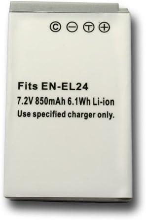 【掘出】2個セット Nikon EN-EL24 互換バッテリー Nikon1 J5 対応