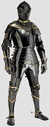 NAUTICALMART Medieval Knight Suit of Armor Combat Full Body Armour Wearable Handicraft - Medieval Knight Armor Suit Of