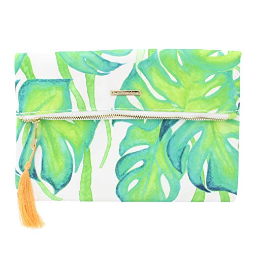 Pura Vida Palm Clutch - Girls/Womens Purse Beach Bag