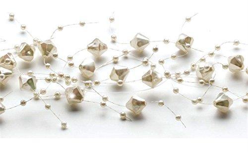 Beaded Garland (Iridescent - Acrylic Faceted Beads Iridescent
