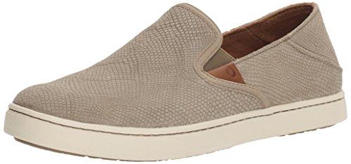 OLUKAI New Women's Pehuea Leather Slip On Clay Honu/Clay 8.5