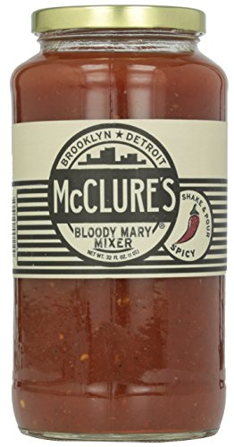 McClure's Bloody Mary Mixer, 32 oz - Bloody Mary Mixer