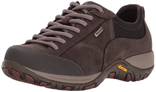 Dansko Women's Paisley Fashion Sneaker, Chocolate Milled Nubuck, 39 EU/8.5-9 M US ()