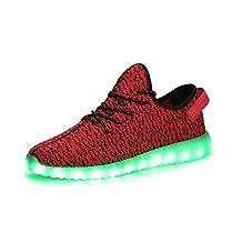 LED Luminous Unisex Sneakers Men & Women USB Charging Light Colorful Glowing Flashing Shoes Sport Shoes