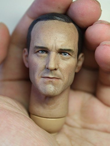 Shalleen Custom Clark Gregg 1/6 Head Sculpt for Hot Toys Body (Kids Plush Dinosaur Wings Costume)