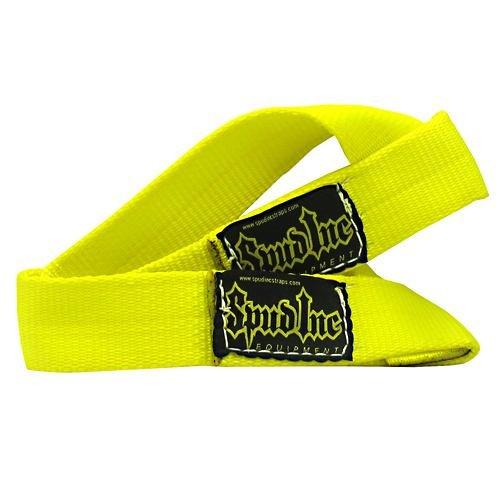 SPUD INC 1.5'' Wrist Straps Yellow - 1 Pair of Wrist Wraps by Spud, Inc.