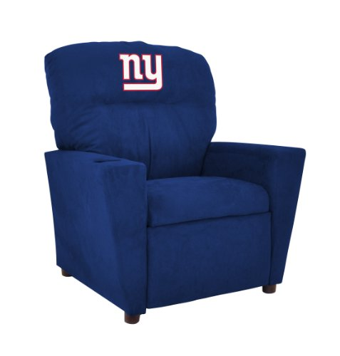 Shop Giants Furniture - Imperial Officially Licensed NFL Furniture: Youth Microfiber Recliner, New York Giants