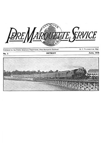Marquette Pere Railway - Pere Marquette Service, v1 no1