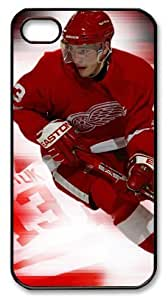 icasepersonalized Personalized Protective Case For Samsung Note 4 Cover NHL Detroit Red Wings #13 Pavel Datsyuk