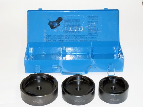 """RAY TOOLS LOW TORQUE 3"""", 3.5"""", AND 4"""" KNOCKOUT PUNCH AND DIE SET"""