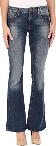 Back Zip Leather Jeans (Mavi Jeans Women's Peace in Shaded Tribeca Shaded Tribeca 31 36)