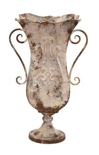 Deco 79 Metal Vase, 13 by 21-Inch B01MXE64ZJ