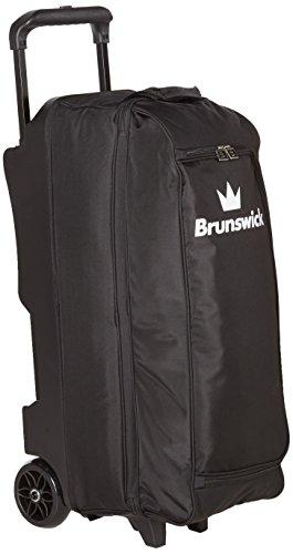 Brunswick Blitz Triple Roller Bowling Bag, Black
