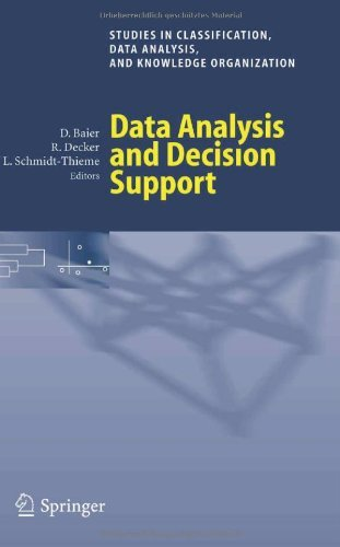 Download Data Analysis and Decision Support (Studies in Classification, Data Analysis, and Knowledge Organization) Pdf