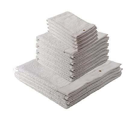 Rizo Paquete ahorro – 2 x/4 x/4 x Mano Toalla de ducha