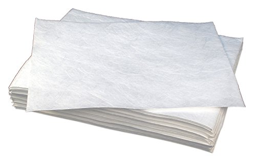 Buffalo Industries (90853) 32'' x 40'' Heavy Weight Meltblown Oil Only Sorbent Pad, (Pack of 100)