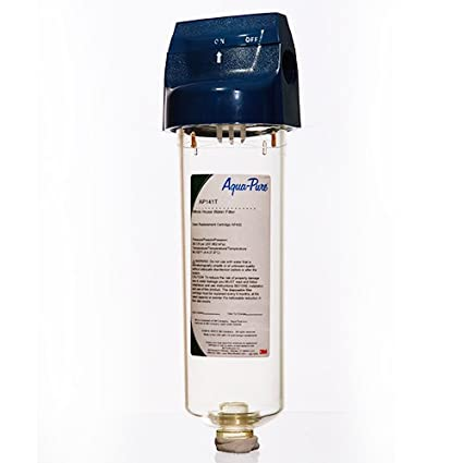 aqua-pure 3m ap141t whole house water filter and scale inhibitor ...