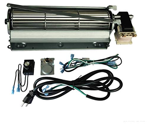 Vicool GFK4 Fireplace Blower Kit Compatible with Heatilator, Majesti, CFM, Vermont Castings, Monessen; Rotom HBRB74K (Insert Heatilator)