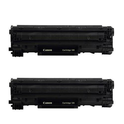 Canon 2x imageCLASS 128 Black Toner Cartridge - Compatible w
