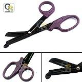 purple scissor blade - G.S TRAUMA EMT SHEARS - 5.5