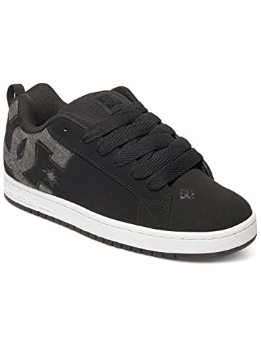 DC Shoes Court Graffik S M - Sneaker, taglia Black Wash