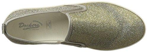 700559 36 Dockers Silber EU Sneakers 36ai814 Basses Gerli by Femme qqTH8Cxt