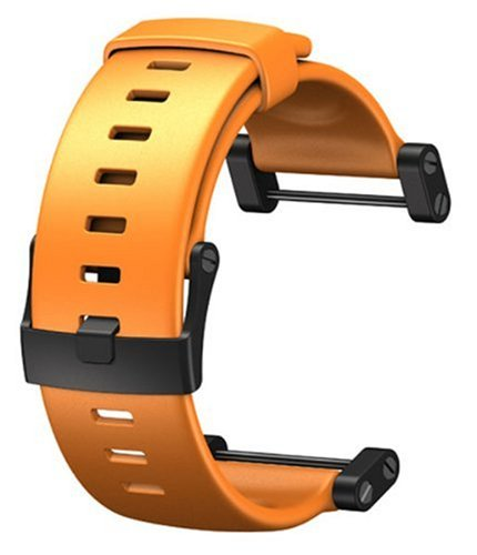 Suunto Core Wrist-Top Computer Watch Replacement Strap (Flat Orange)