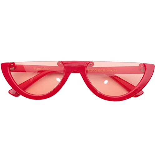 de Deep ECMQS Femme orange Lunette soleil rouge Orange Transparent 5zpxqOF