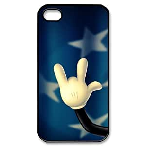 Hard Shell Case Of Rock & Roll Customized Bumper Plastic case For Iphone 4/4s by supermalls