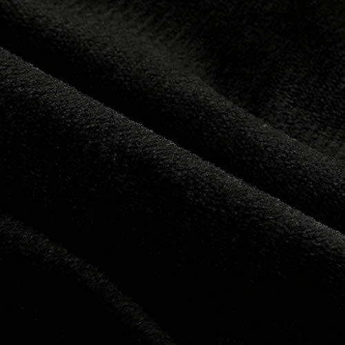 In Schwarz Donna Cappotto Lunghe Pile Classiche Invernale Maniche Tinta Donne Caldo Cardigan Giacca Parka Elegante A Rovinci Unita Aperto bgY6I7vfy