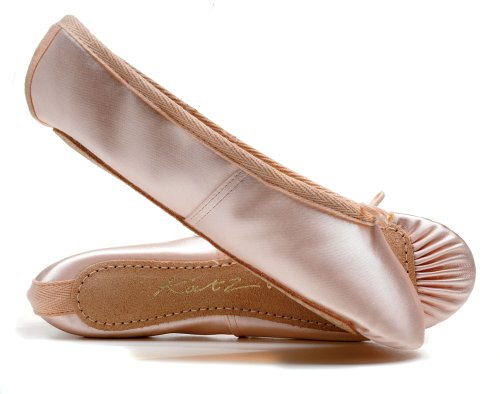 Pink Katz Dance Girls Adults Childs Dancewear Satin Made Full Sizes By Ballet Sole Ladies Shoes All 6ttHqwrA