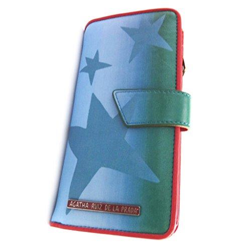 Wallet 'Agatha Ruiz De La Prada'green blue (m).