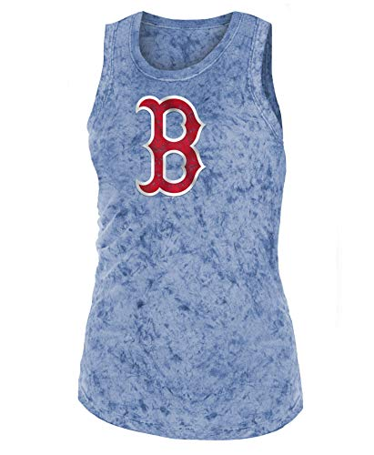 New Era Boston Red Sox Women's MLB Fastball Dual Blend Tank Top ()