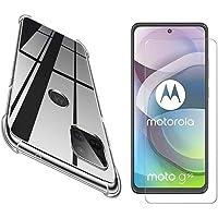 Kit Capa Capinha Anti Impacto e Película de vidro Motorola Moto G 5g - (C7COMPANY)