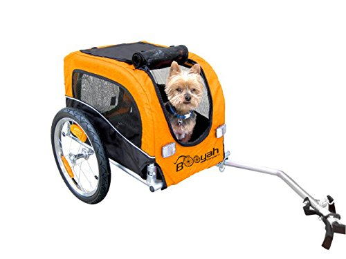 Booyah Small Dog Pet Bike Bicycle Trailer Pet Trailer Orange by Booyah Strollers