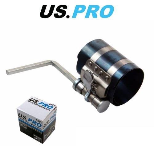 US PRO 53-125mm Engine Piston Ring Compressor Adjustable Ratchet Type 5583:
