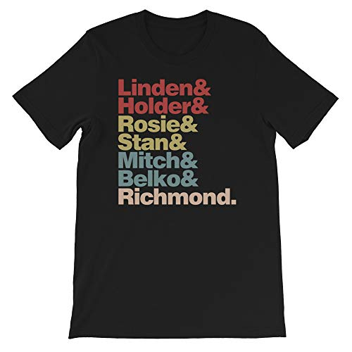(The Killing cast Linden Holder Richmond Larsen Vintage Gift Men's Women's Girls Unisex T-Shirt Sweatshirt Black)