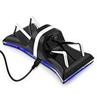 Base de estación de cargador doble USB Zettaguard para Sony PS3 Controller