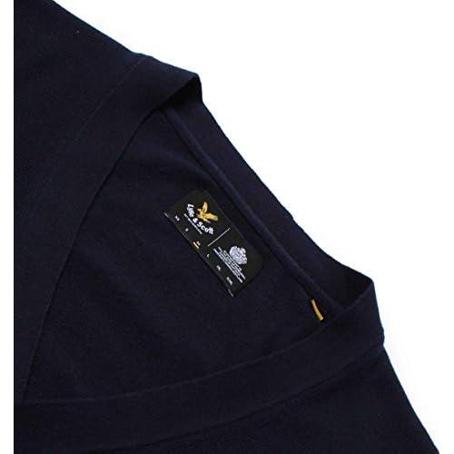 Lyle   Scott Hombre Algodón Merino Logo chaqueta de punto 369a5df06931
