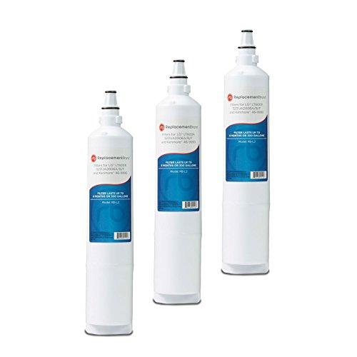LG 5231JA2006A LT600P 5231JA2006B Comparable Refrigerator Water Filter 3 Pack